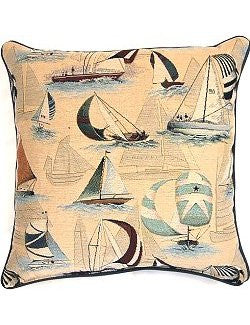 McGregor Sailing Yacht Pillow