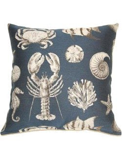 Rustic Reef Life Accent Pillows