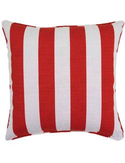 Cabana Stripe Indoor/Outdoor Poly Accent Pillows