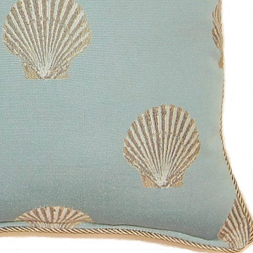 Palm Beach Shells Accent Pillow