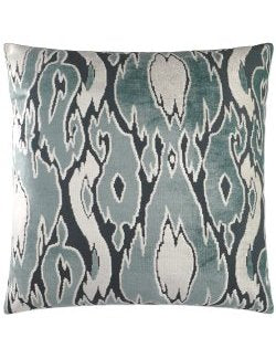 Ocean Moods Ikat Plush Pillow - Nautical Luxuries