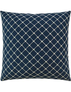 Deep Sea Knotted Net Pillow - Nautical Luxuries