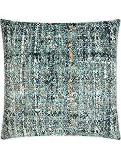 Vintage Ocean Bouclé Weave Pillow - Nautical Luxuries