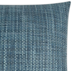 Bold Weave Ocean Blues Pillow - Nautical Luxuries