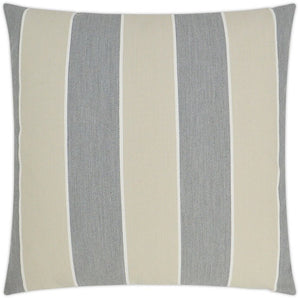Summer Suited Cabana Stripe Outdoor Pillows - Nautical Luxuries