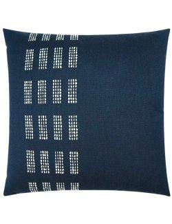Contempo Neutrals Outdoor Pillows/Dashing Indigo - Nautical Luxuries