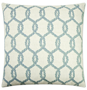 Contempo Indoor Pillows/Sea Glass Net Accent Pillow - Nautical Luxuries