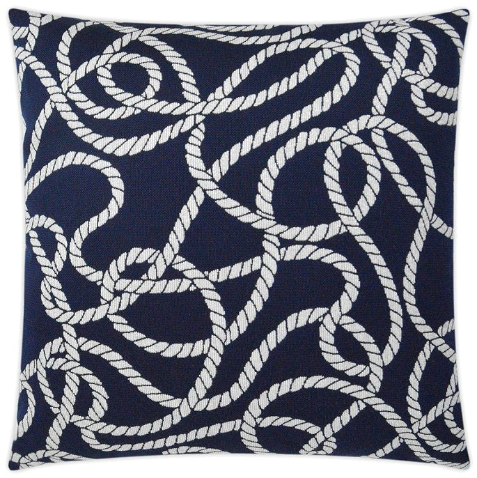 Contempo Outdoor Pillows/Nautical Ropes
