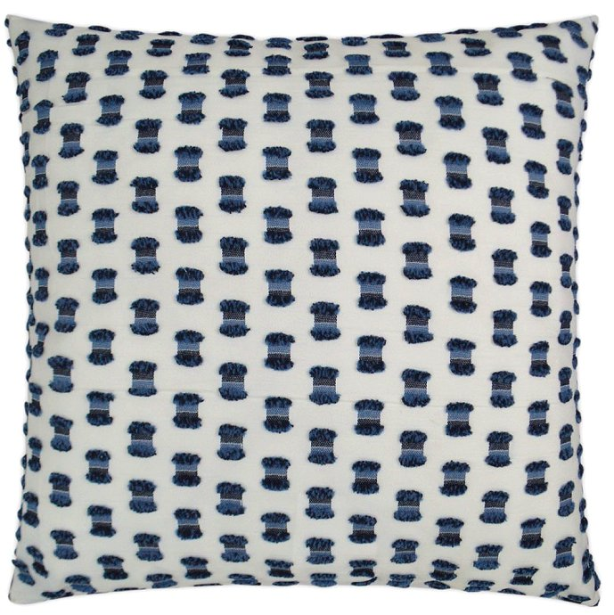 luxury outdoor pillow indigo blue