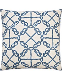 Contempo Indoor Pillows/Figure Eights Accent Pillow - Nautical Luxuries