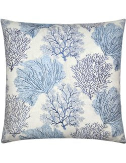 Contempo Indoor Pillows/Blue Coral Field