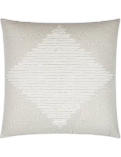Contempo Neutrals Outdoor Pillows/Diamond In The Rough Ivory - Nautical Luxuries