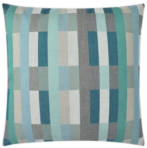 Contempo Neutrals Outdoor Pillows/Kiawah Beach Blues - Nautical Luxuries