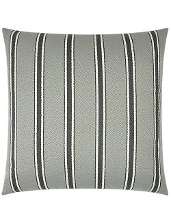 Contempo Neutrals Outdoor Pillows/Sausalito Stripe Grey - Nautical Luxuries
