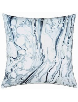 Marble Splash Accent Pillow - Nautical Luxuries