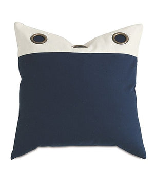 Nautical Grommet Pillow - Nautical Luxuries