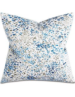 Watercolor Splash Accent Pillow - Nautical Luxuries