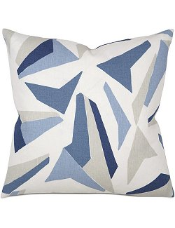 Impressionist Nautical Accent Pillows - Nautical Luxuries