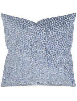 Water Shadows Velvet Accent Pillow - Nautical Luxuries
