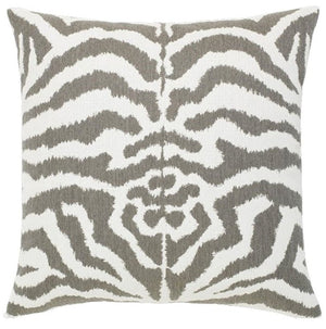 Wild Zebra Sunbrella® Chenille Outdoor Pillows - Nautical Luxuries
