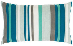Mixable Stripes Sunbrella® Outdoor Pillows (4 Colors) - Nautical Luxuries