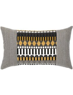 Deco Banded Sunbrella® Outdoor Pillows
