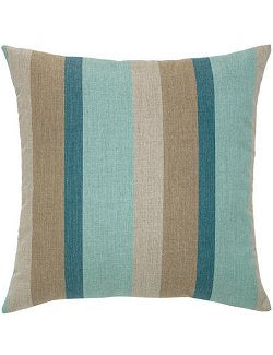 Bold Lagoon Color Block Sunbrella® Outdoor Pillows