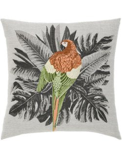 Majestic Macaw Sunbrella® Outdoor Pillow - Nautical Luxuries