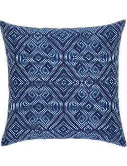 Midnight Tile Sunbrella® Outdoor Pillows