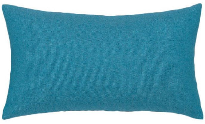 Optic Azure Sunbrella® Outdoor Pillows