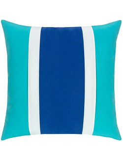Mustique Blue Ocean Sunbrella® Outdoor Pillows - Nautical Luxuries