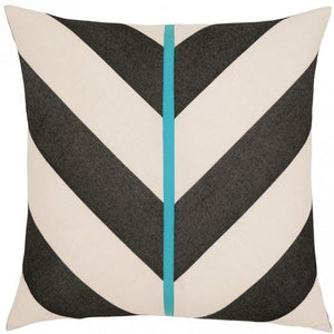 Harmony Stripes Sunbrella® Outdoor Pillow - Nautical Luxuries