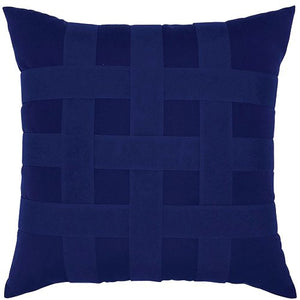 Basket Weave Sunbrella® Outdoor Pillows (5 Colors) - Nautical Luxuries