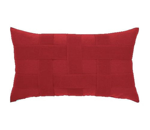 basket weave sunbrella outdoor pillows