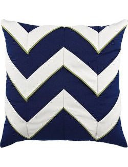 Cruise Chevron Sunbrella® Outdoor Pillows
