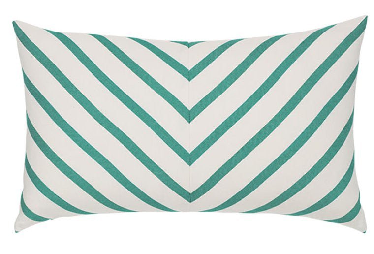sunbrella outdoor pillow elegant stripes