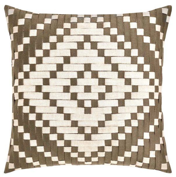 Diamond Basketweave Sunbrella® Outdoor Pillows