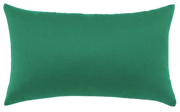 Marbled Emerald Sunbrella® Outdoor Pillows