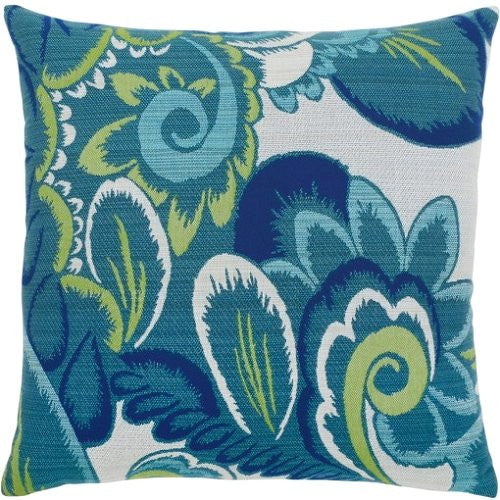 luxury outdoor pillow floral design