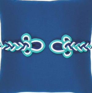 Frog's Clasp Sunbrella® Outdoor Pillows (5 Colors) - Nautical Luxuries