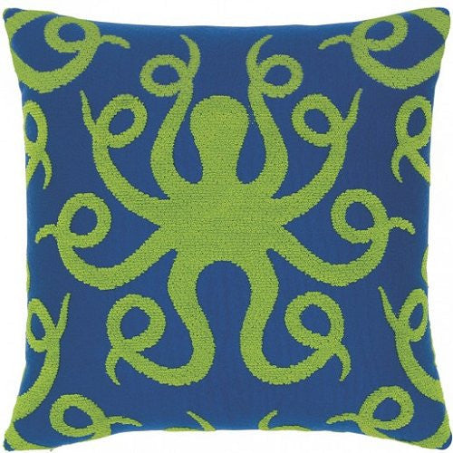 Plush Octopus Sunbrella® Outdoor Pillow