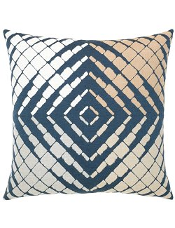 Optical Progression Sunbrella® Outdoor Lumbar Pillow - Nautical Luxuries