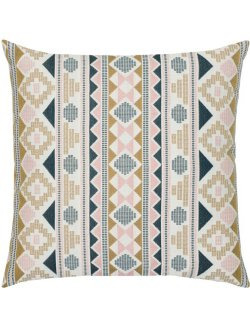 Geometric Stripe Sunbrella® Outdoor Pillows