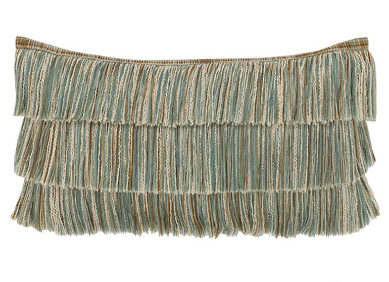 Tropical Fringe Sunbrella® Outdoor Pillows