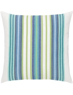 Summer Season Stripe Sunbrella® Outdoor Pillows - Nautical Luxuries