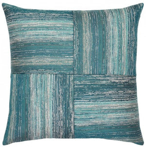 luxury outdoor pillows ocean colors