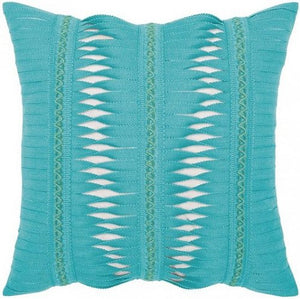 Gladiator Twist Sunbrella® Outdoor Pillows (7 Colors) - Nautical Luxuries