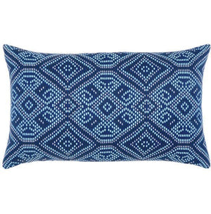 Midnight Tile Sunbrella® Outdoor Pillows - Nautical Luxuries