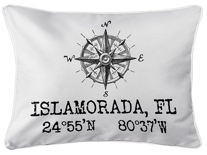 Custom Location Indoor/Outdoor Pillows - Nautical Luxuries