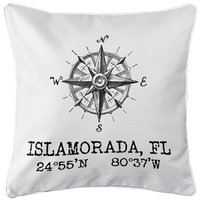 Custom Location Indoor/Outdoor Pillows
